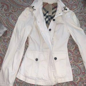 Burberry Brit white denim jacket